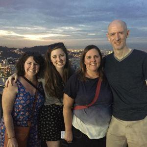 Family at Sugarloaf