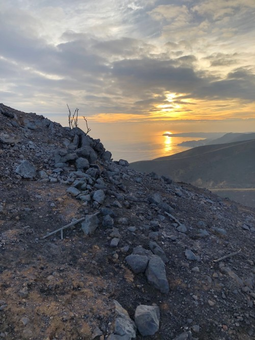 My Daughter And I Decided To Hike The Scorched Hills Behind Our House On Thanksgiving Eve To Get A Firsthand Look At The Aftermath Of The Woolsey Fire
